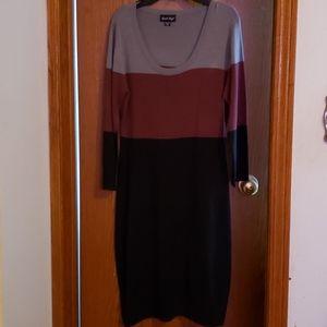 Charlie Paige sweater dress.